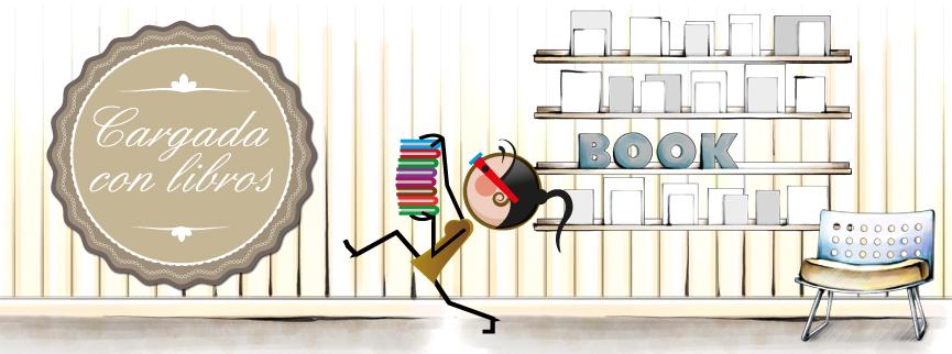Cargada con libros