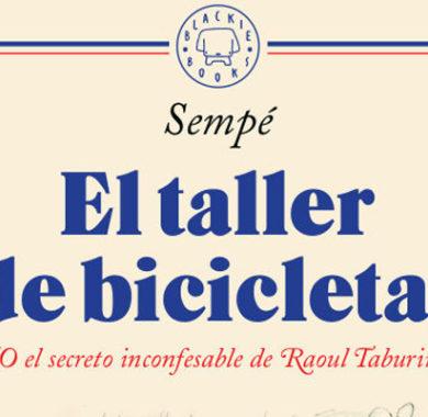 El taller de bicicletas de Sempé