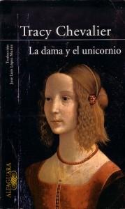 La dama y el unicornio de Tracy Chevalier