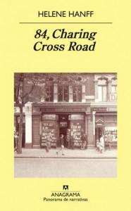Reseña del libro 84 Charing Cross Road de Helene Hanff