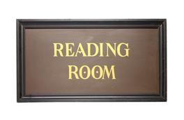Reading Room Cargada con libros