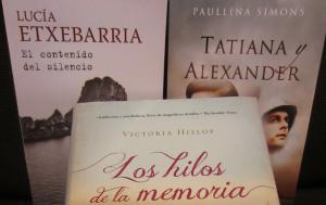 El contenido del silencio, Tatiana y Alexandre y Los hilos de la memoria