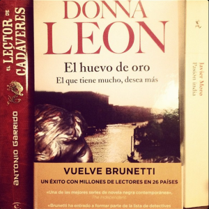 EL huevo de oro de Donna Leon