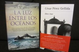 Foto 2. Nuevos libros. Cargada con libros
