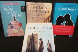 Foto 4. Nuevas lecturas. Cargada con libros