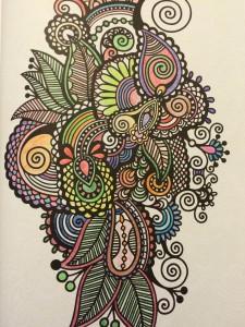 Láminas antiestrés. 100 Láminas para colorear