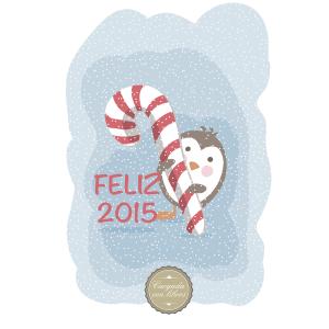 Feliz 2015 Cargada con libros