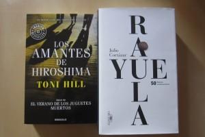 Los amantes de Hiroshima de Toni Hill y Rayuela de Julio Cortázar