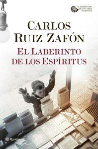 El laberinto de los espíritus de Carlos Ruiz Zafón